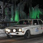 Rudi Roubinek / Günther Schrems – Volvo 142 vor Eisfiguren in Rohrmoos